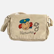 Policewoman Messenger Bag