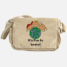 Fun to Learn Messenger Bag