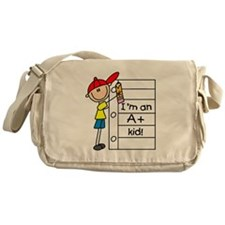 A Plus Kid Messenger Bag