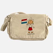 Netherlands Ethnic Messenger Bag