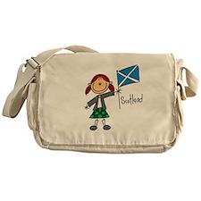 Scotland Ethnic Messenger Bag