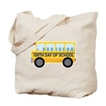 School Bus 100th Day of School Tote Bag