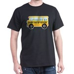 School Bus 100th Day of School Dark T-Shirt