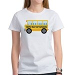 School Bus 100th Day of School Women's T-Shirt