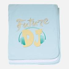 Future DJ (Disk Jockey) baby blanket