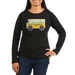 Assistant Principal School Bus Women's Long Sleeve