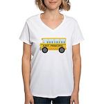 Assistant Principal School Bus Women's V-Neck T-Sh