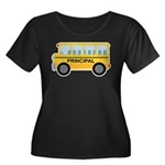 Principal School Bus Women's Plus Size Scoop Neck