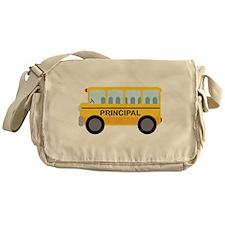 Principal School Bus Messenger Bag