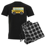 Principal School Bus Men's Dark Pajamas