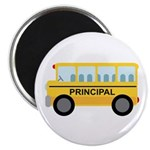 "Principal School Bus 2.25"" Magnet (10 pack)"