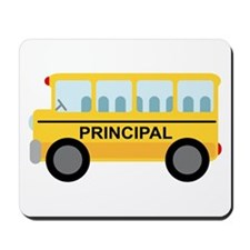 Principal School Bus Mousepad
