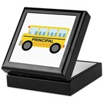 Principal School Bus Keepsake Box