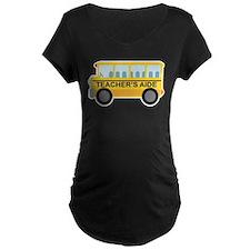 Teacher's Aide School Bus T-Shirt