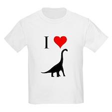 I Love Dinosaurs - Brachiosau T-Shirt