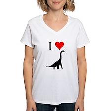 I Love Dinosaurs - Brachiosau Shirt