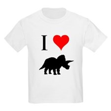 I Love Dinosaurs - Triceratop T-Shirt
