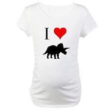 I Love Dinosaurs - Triceratop Shirt