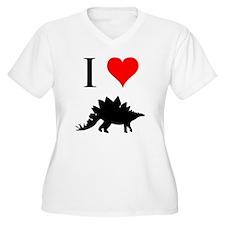 I Love Dinosaurs - Stegosauru T-Shirt