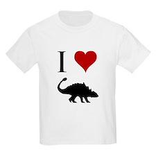 I Love Dinosaurs - Ankylosaur T-Shirt