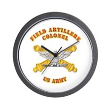 Artillery - Officer - Colonel Wall Clock