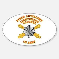 Artillery - Officer - LTC Decal