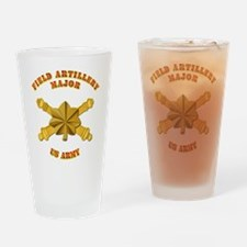Artillery - Officer - MAJ Drinking Glass