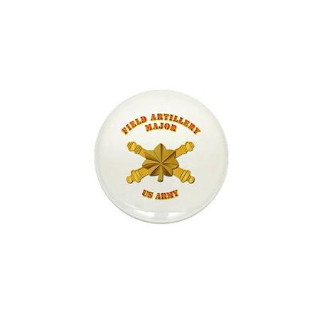 Artillery - Officer - MAJ Mini Button