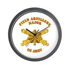 Artillery - Officer - MAJ Wall Clock