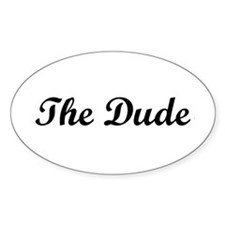 The Dude Decal