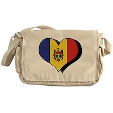 I Love Moldova Messenger Bag