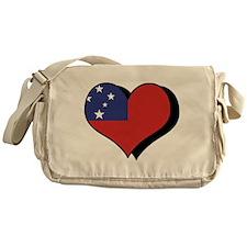 I Love Samoa Messenger Bag