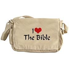 I Love The Bible 2 Messenger Bag