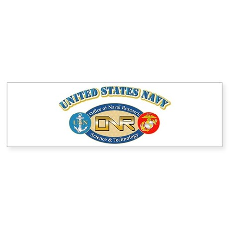 US Navy - Office of Naval Research Sticker (Bumper