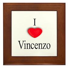 Vincenzo Framed Tile