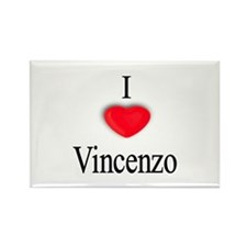 Vincenzo Rectangle Magnet