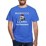 Morocco Llama For President Dark T-Shirt