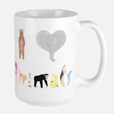 I love Animals colour Mug