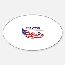 Cute Wounded warrior Decal