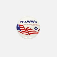 Cute Wounded warrior Mini Button