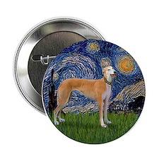 """Starry / Greyhound (f) 2.25"""" Button"""