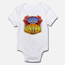 Super Sister Infant Bodysuit