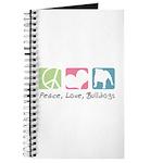 Peace, Love, Bulldogs Journal