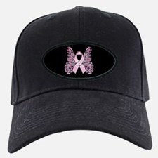 Pink Butterfly Hope Baseball Hat