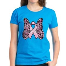 Pink Butterfly Hope Tee