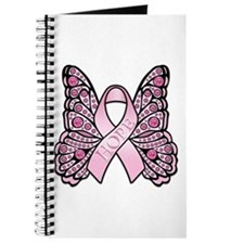 Pink Butterfly Hope Journal