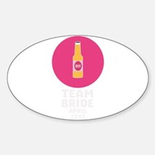 Team bride April 2017 Henparty C55b0 Decal