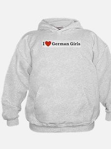 I loves German Girls Hoodie