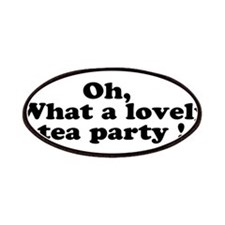 What a lovely tea party Patches