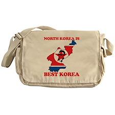 North Korea is Best Korea Messenger Bag